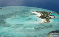 Malediwy mapa
