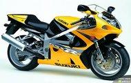 Suzuki GSX-R 750 Żółtek :)