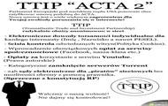 TTIP czyli... ACTA 2 !!!!
