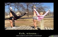 Wiosenny aerobik :)