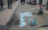 Sztuka 3D na ulicy no.3