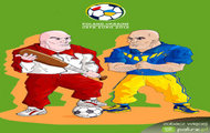 UEFA: Polska - Ukraina - dresiarze