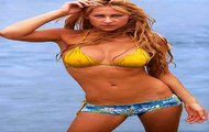 Anna Kournikova na plaży