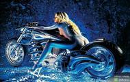 naga laska na motorze