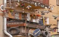 Mega slums na balkonie