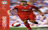 George Steven Gerrard mecz Liverpool