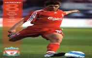 Liverpool gol George Gerrard Steven