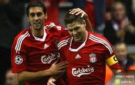 Liverpool zdjęcia George Gerrard Steven