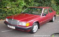 Mercedes-Benz A 190 Automatic dane techniczne