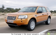 dane techniczne Land Rover Freelander 2.0 Diesel Automatic