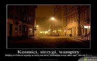 Kosmici, strzygi, wampiry