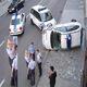 Maly wypadek policji
