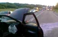 Bochnianin.pl: Ford wjechał pod naczepę ciężarówki