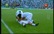 Gol de Santiago Silva