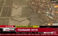 Niszczycielskie tsunami w Japonii