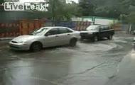 Ekstremalne mycie podwozia samochodu
