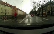 Chamstwo na przejściu dla pieszych