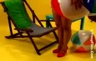 Miriam Gonzalez - Black Bikini