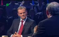 Debata Tusk Kaczynski Co ceni premier