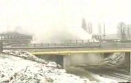 Szczecin - Wyburzenie 150m mostu na autostradzie (TVN)