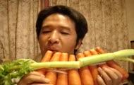 "Carrot Pan-flute - ""Old Castl's moon ""(Koujou no Tuki)"
