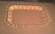 Stadion z zapałek