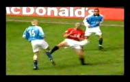Brutalne faule na piłkarskich boiskach