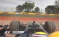 Mark Webber - wypadek w Australii