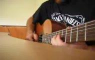 Rózowa pantera - główny motyw zagrany na gitarze