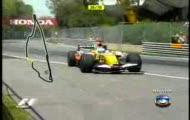 Grand Prix Kanady - wypadek Alonso - www.V10.pl