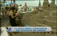 Reporterka + zamek z piasku = katastrofa xxx