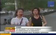 Krwawe starcia w Chinach
