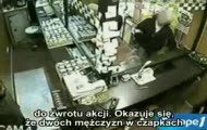 Francja: Policja obrabowała sklep