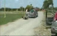 Laski na ciężarówce - fail