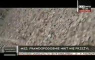 Relacja z miejsca katastrofy Tupolewa, w której zginął prezydent RP Lech Kaczyński