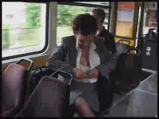 Ogromne cyce w autobusie