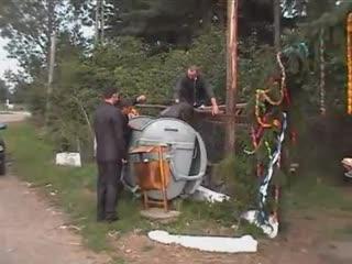 Wypadek na rumuńskim weselu