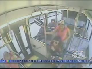 Kobieca nie-delikatność w autobusie