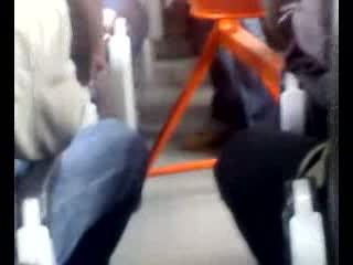 Betoniarka w autobusie