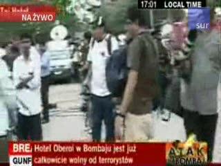 Bombaj: Akcja indyjskich komandosów