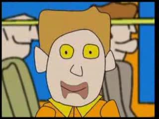 Człowiek Biegunka - Na gapę w autobusie x