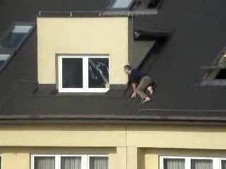 Podglądacz na dachu
