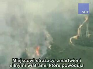 Pożar spustoszy Kalifornię ?