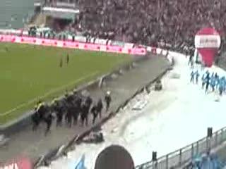 Zadyma Wielkie Derby Śląska 2009 Ruch vs. Górnik cz.1