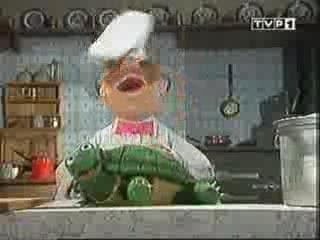szwedzki kucharz zolw od luckybuster