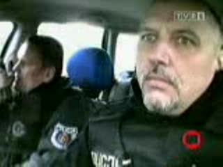 Pościg Polskiej Policji za Audi