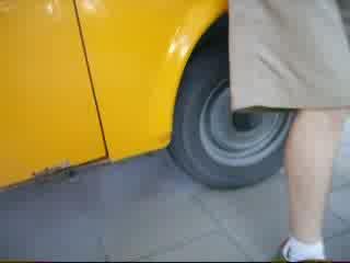 Trabant 601 Sloneczko Pali Gume