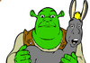 Pokoloruj Shreka